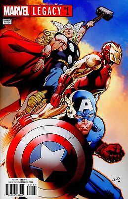 Marvel Legacy #1 LAND Variant Cover Edition NM 1st Print