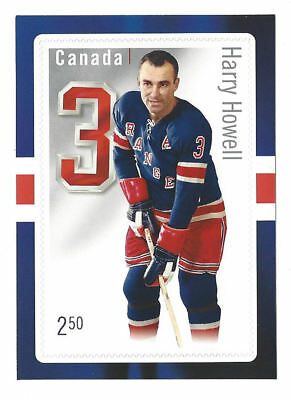 Canada -Hockey card stamp: defencemen- Harry Howell  SC# 2791-MNH