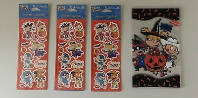 Lot Rugrats Halloween Stickers Treat Bags American Greetings Vintage