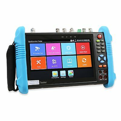 OnvianTech 7 Inch Touch Screen IP Camera Tester IP / Analog / HD-TVI / HD-CVI /