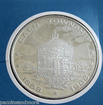 Caln Township {Chester County PA} Silver-Clad Centinnial Commemorative Proof