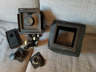 chambre photographique (view camera) large format arca swiss discovery outfit