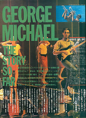George Michael / Wham! - Clippings From Japanese Magazine Popgear