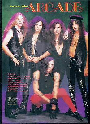 Ratt / Stephen Pearcy - Clippings From Japanese Magazines Music Life And Burrn!