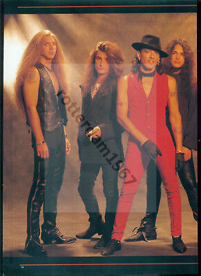 Ratt / Stephen Pearcy - Clippings From Japanese Magazine Burrn! 1992 - 2007