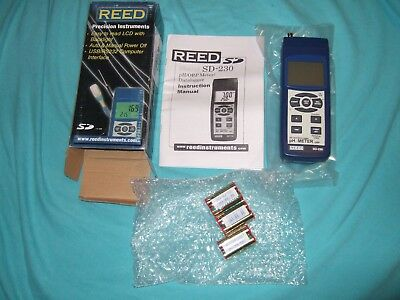REED SD-230 SD Card Data Logger pH METER ORP New Open Box
