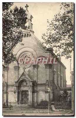 CPA Temple protestant Rennes