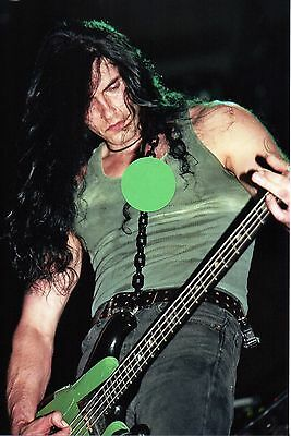 Type O Negative Peter Steele 8 - 5X7 Color Concert Photo Set #5B