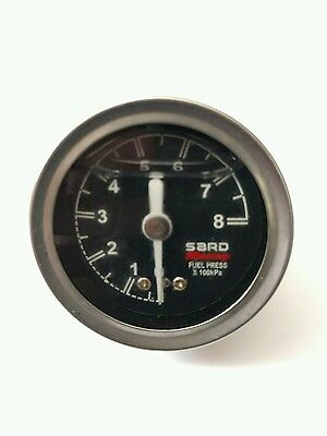 Universal SARD Liquid-Filled Turbo Charger Fuel Regulator Pressure Gauge Meter