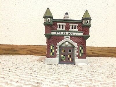 """Dept. 56 """"Cobles Police Station"""" from the Dickens Village Series 55832"""