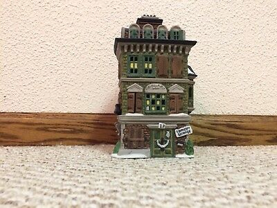 "Dept. 56 ""The Flat of Ebenezer Scrooge"" from the Dickens Village Series 55875"