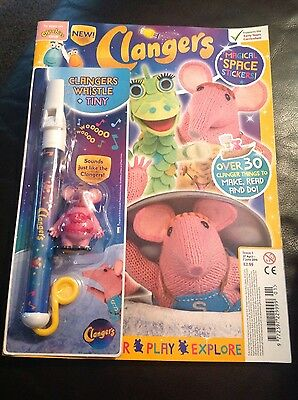 Clangers magazine comic Issue #1 2016 clangers whistle & tiny figure