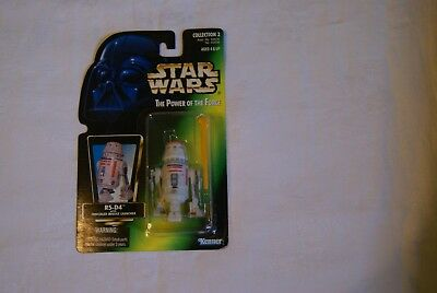 1996 Star Wars R5-D4 POTF Holographic Green Card Collection  Action Figure
