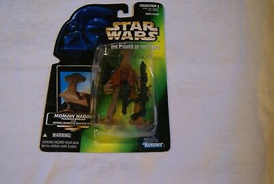 "New Momaw Nadon ""Hammerhead"" Star Wars POTF2 Power Of The Force 1996"
