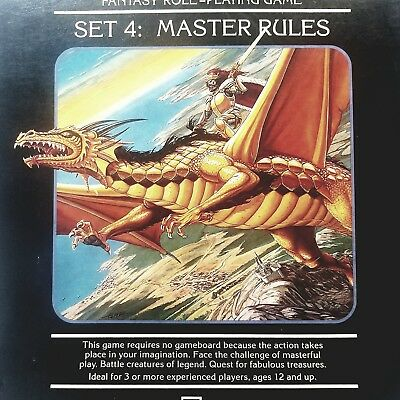 Dungeons & Dragons Set 4 : Master Rules ~ Complete Box Set ~ 1985 ~ D&D