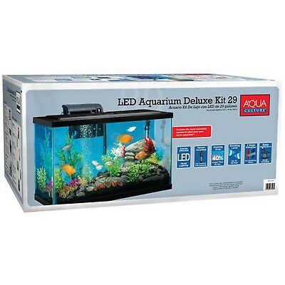 Aqua Culture Aquarium Starter Kit 29 Gallon