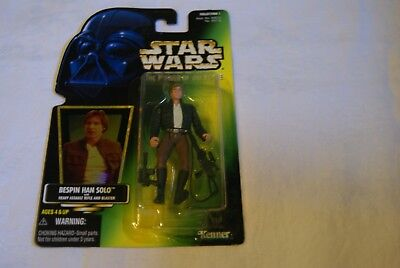 Star Wars  Bespin Han Solo  Power Of The Force 1997