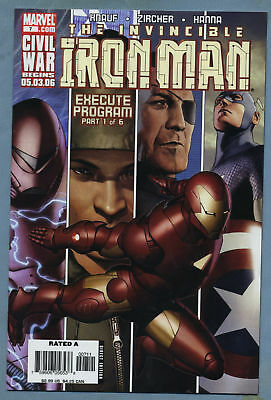 Iron Man #7 2006 Marvel Comics m