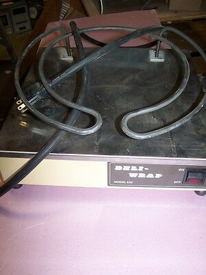 Deli-Wrap 630 Shrink-wrap machine Base only REDUCED PRICE