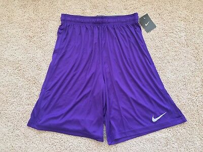 NEW Nike Dri Fit Team Fly Performance Athletic Basketball Shorts men Purple