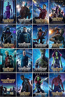 16 postcards of guardians of the galaxy moive poster star wars space travel new