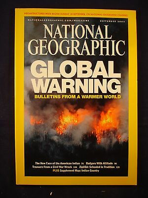National Geographic - September 2004 - Global warming