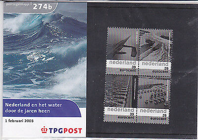 Netherlands Stamp pack 2003 WATER