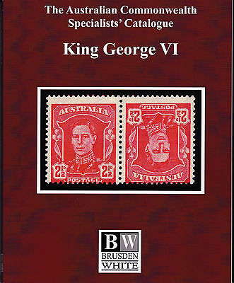 Australia BW Specialists Catalogue King George VI 2015 Edition