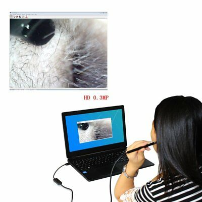 USB Ear Cleaning Tool Endoscope Visual Earpick With Mini Camera Multifunctional#
