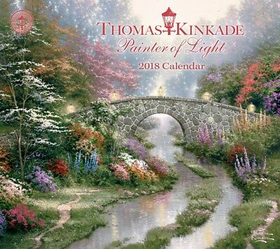 Thomas Kinkade Painter of Light 2018 Deluxe Wall Calendar by Andrews McMeel