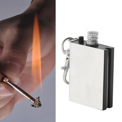 Permanent Fire Starter Metal Waterproof Matches Survive Flint Stone Lighter Tool