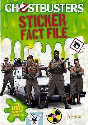 Ghostbusters Sticker Fact File with 1000 stickers