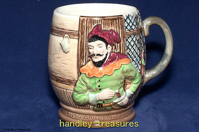 Beswick Shakespeare Pistol Merry Wives of Windsor Mug Pattern 1127