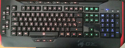 TECLADO ESPAÑOL PC GENIUS Keyboard Manticore Professional GX Gaming Keyboard
