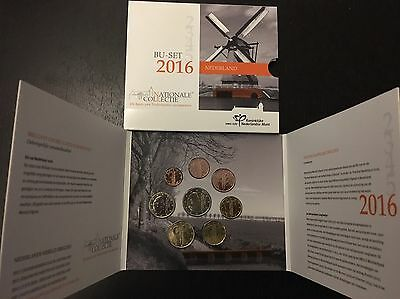 Coffret officiel  BU Pays Bas 2016