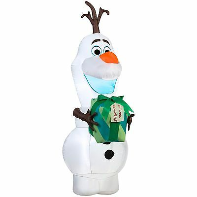 Brand New Airblown Self-Inflatable Garden Decor Olaf with Gift