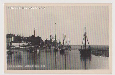 Early Postcard, Essex,Leigh On Sea, The Creek, Old Boats, Nice View,