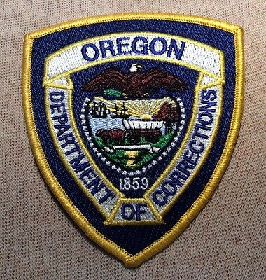 OR Oregon Department of Corrections Patch