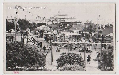 Early Postcard, Essex, Southend On Sea, Peter Pan Playground, Nice View, RP