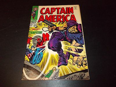 Captain America 108 FN- Trapster appearance Silver Age Stan Lee Jack Kirby 1968