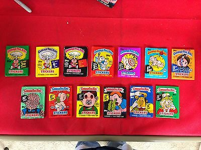 Topps Garbage Pail Kids Stickers Pack Lot 3 4 5 6 7 8 9* 10 11 12 13 14 15 Gpk