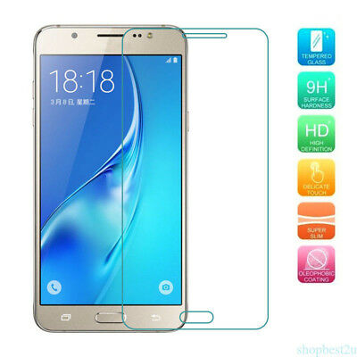 Tempered Glass Film Cover Screen Protector Film For Samsung Galaxy J1 J5 2016