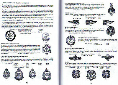 2011 Ed NZ Army Badge Reference BOOK Kiwi ANZAC 1200 Badges PHOTOS & PRICE GUIDE