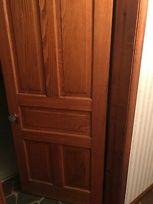 Wooden oak doors for sale in over a 100 yr old home $125 each OBO