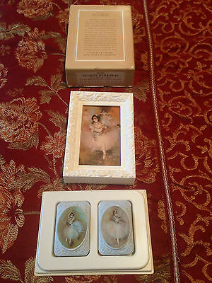 Avon Ballet Picture with Decal Soaps- Set of 2 Soaps - 1978