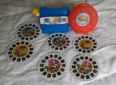 viewmaster view-master toy story retro 10th anniversary six reel edition