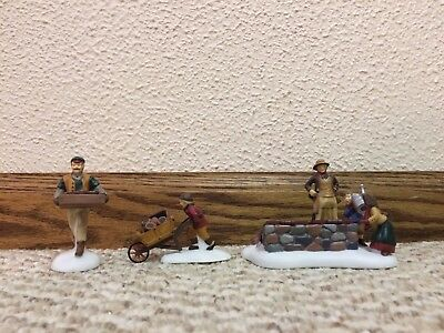 """REDUCED Dept. 56 """"Tending the Cold Frame"""" from the Dickens Village Series 58416"""