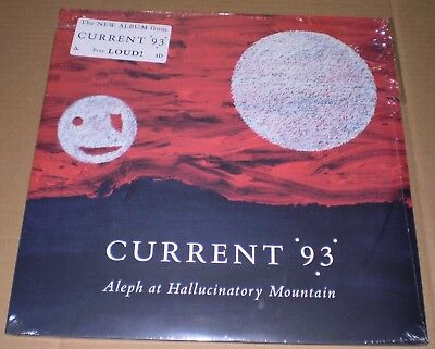 """CURRENT 93 Aleph at Hallucinatory Mountain 2x 12"""" signed by Tibet sealed !!"""