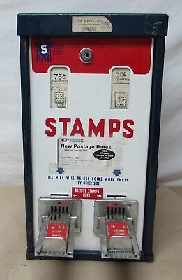 Vintage Us Postage Stamps Machine Rare Top Load Post Office #2