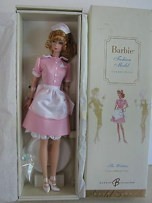 The Waitress Silkstone Barbie, NRFB, BFMC, 2005